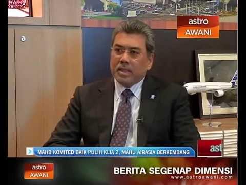 MAHB komited baikpulih KLIA 2, mahu AirAsia berkembang