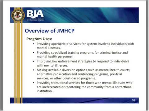 Assistance for Law Enforcement Agencies Responding to the FY2016 Justice and Mental Health C