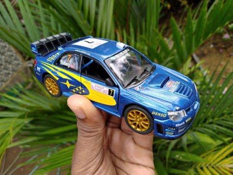 Unboxing Of 2007 SUBARU IMPREZA WRC 1:36 Diecast Metal Car