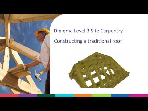Constructing a Traditional Cut Roof