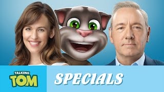 A message from jennifer garner and talking tom (nine lives)