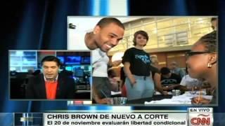 Chris Brown sale de centro de rehabilitación