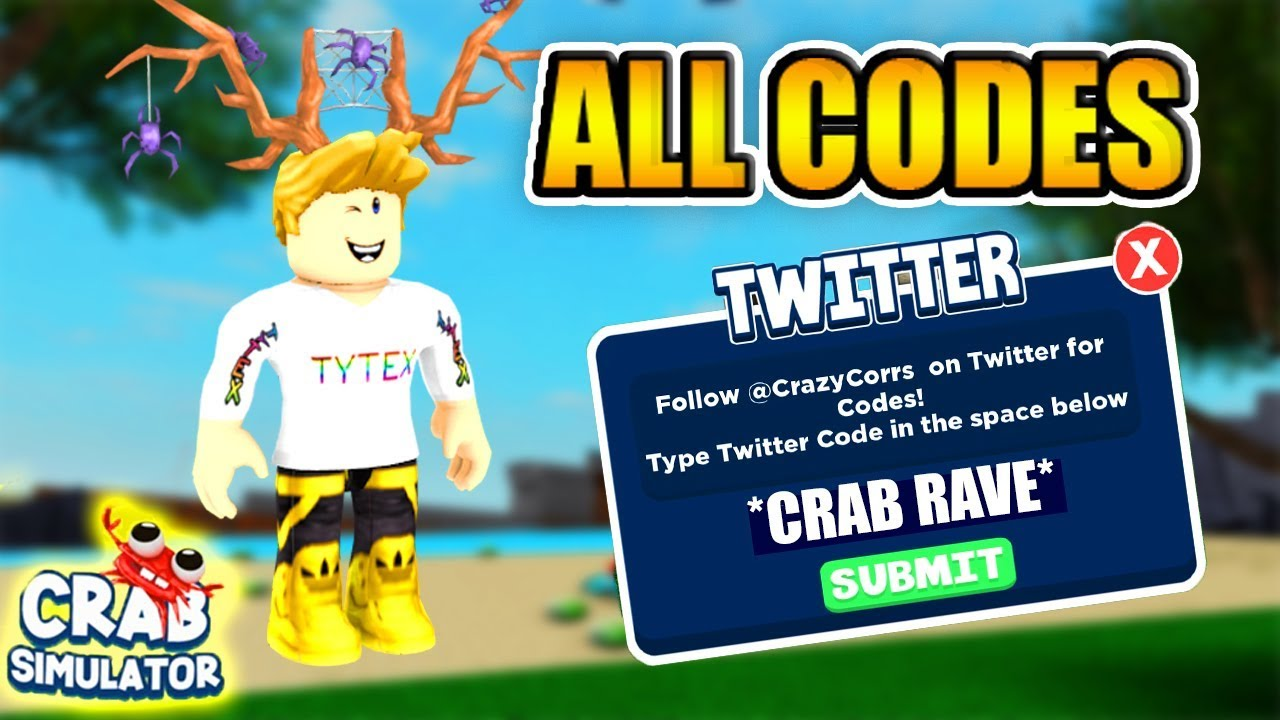 All Codescrab Simulator All Codes Buy New Skins And Collect Roblox - All Codescrab Simulator All Codes Buy New Skins And Collect Roblox