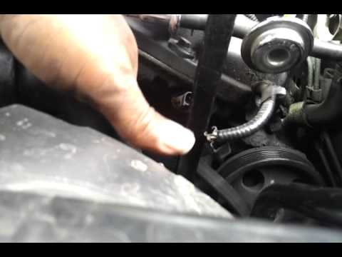 2001 Lincoln Ls V6 Drive Belt Diagram Youtube