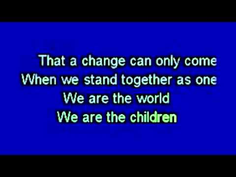 We Are The World - USA for Africa (Official Karaoke) MME Col