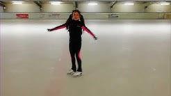 Eiskunstlauf. Lernen. Rittberger.