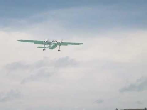 Trans Anguilla Airways aterrizando en St. Maarten