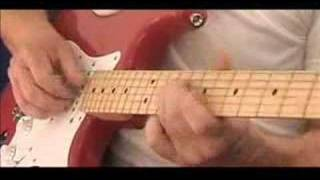 Red Strat Blues - Kirk Lorange 12 bar guitar improvisation