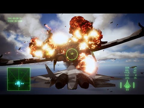 Ace Combat 7: Skies Unknown (Su-57 + Pulse Laser) Mission 19 l Lighthouse |_・)ψ