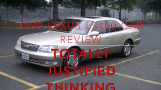 1999 Lexus LS400 Car Review