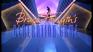 Bruce Forsyth's Generation Game (7.09.1990) Return of Bruce Forsyth