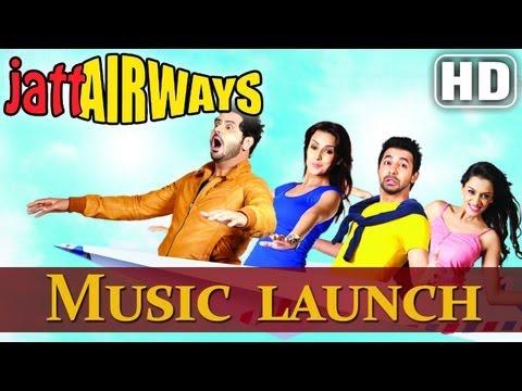 Jatt Airways Music Launch - Alfaaz   Tulip Joshi   Jaswinder Bhalla   Binnu Dhillon   B.N Sharma