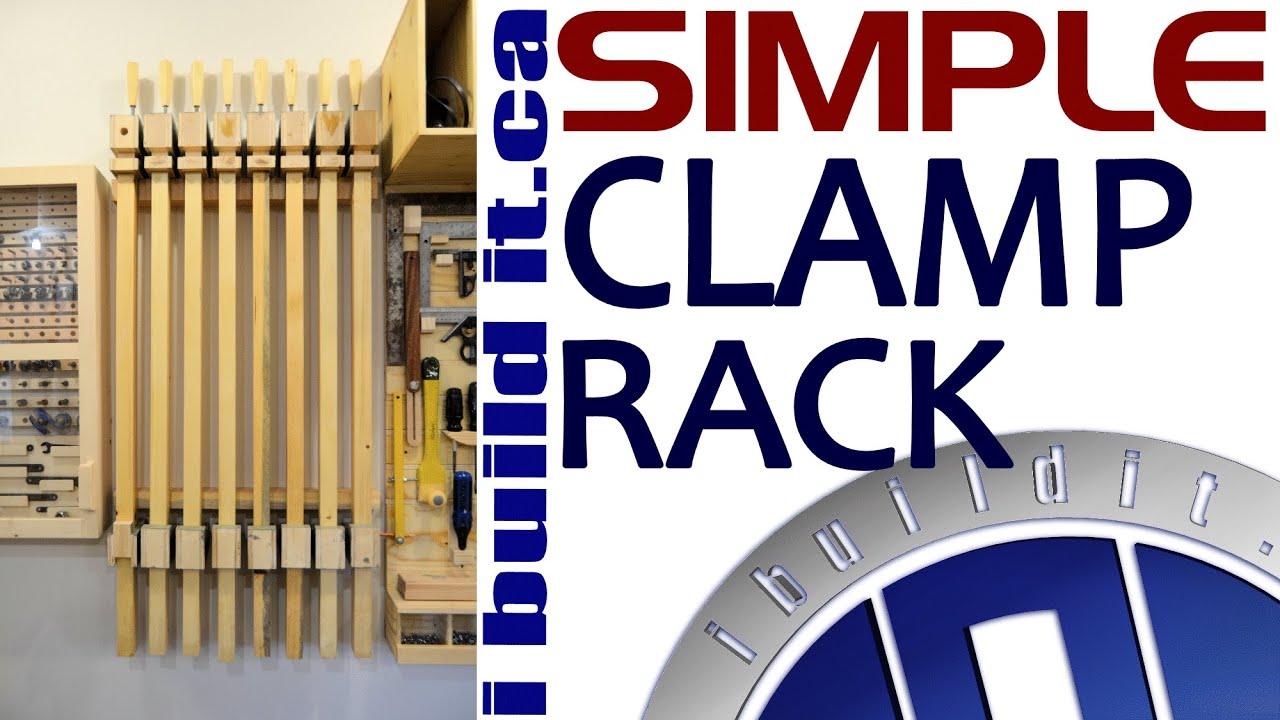Making A Simple Clamp Rack - YouTube