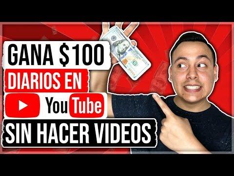 🔥Como GANAR 100 Dólares Diarios en YouTube SIN HACER VIDEOS en el 2019 (DINERO FÁCIL)