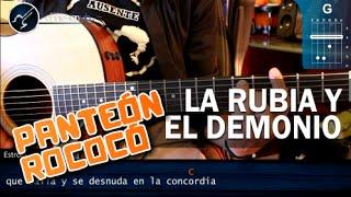 """Cómo tocar """"La Rubia y el Demonio"""" de Panteón Rococo en Guitarra Acustica (HD) - christianvib"""
