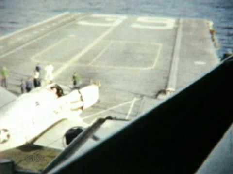 USS CHAMPLAIN (CVS-39) 1961 FLIGHT OPS