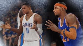 NBA 2K15 PS4 My Career - Ibaka at Point Guard! NFG4