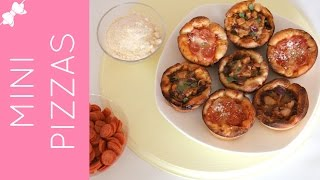 How To Make Mini Deep Dish Pizzas in a Cupcake Pan (Pepperoni, BBQ Chicken & Cheese)