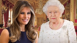 Melania Trump to meet the Queen for the first time next month