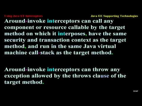 using-java-ee-interceptors
