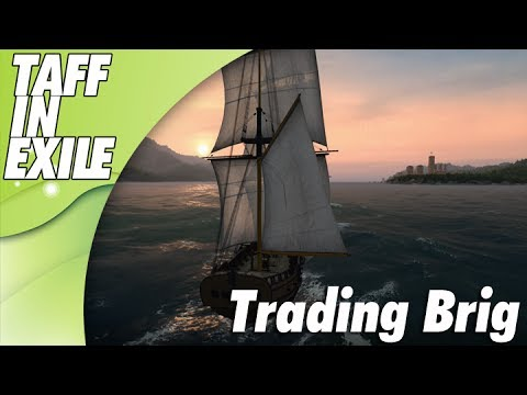 Naval Action | Early Access | Checking out Post Wipe Traders Brig