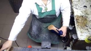видео Замена набоек на каблуках