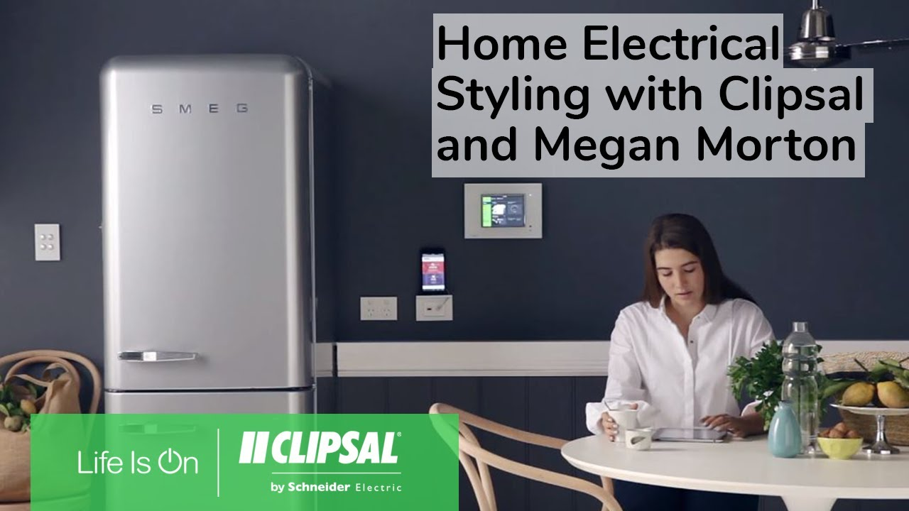Home Electrical Styling Ideas With Clipsal And Megan Morton Wiring Devices Philippines Extended