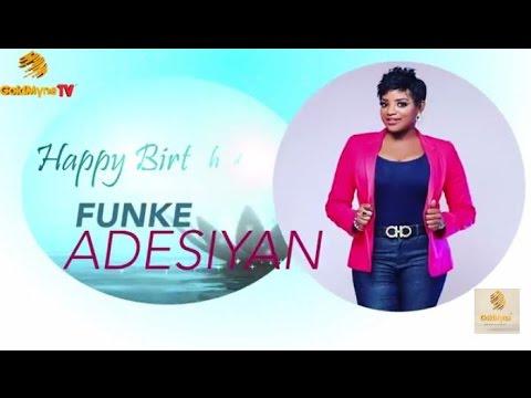 ACTRESS FUNKE ADESIYAN TAKES BIRTHDAY CELEBRATION TO HER ALMA MATER