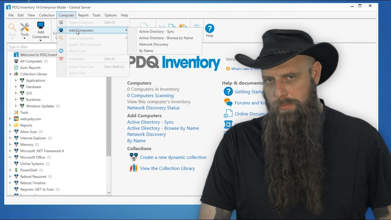 Adding or Removing Computers Using Active Directory in PDQ Inventory