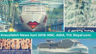 In den heutigen Kreuzfahrt-News geht es um viele verschiedene Theme...