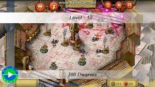 300 Dwarves walkthrough - Level 12