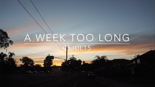 VLOG: A Week Too Long - July 5, 2015 - MDNBLOG