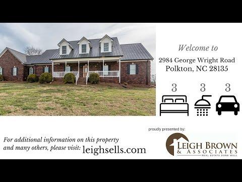 34.24 Acres Polkton NC   2984 George Wright Road