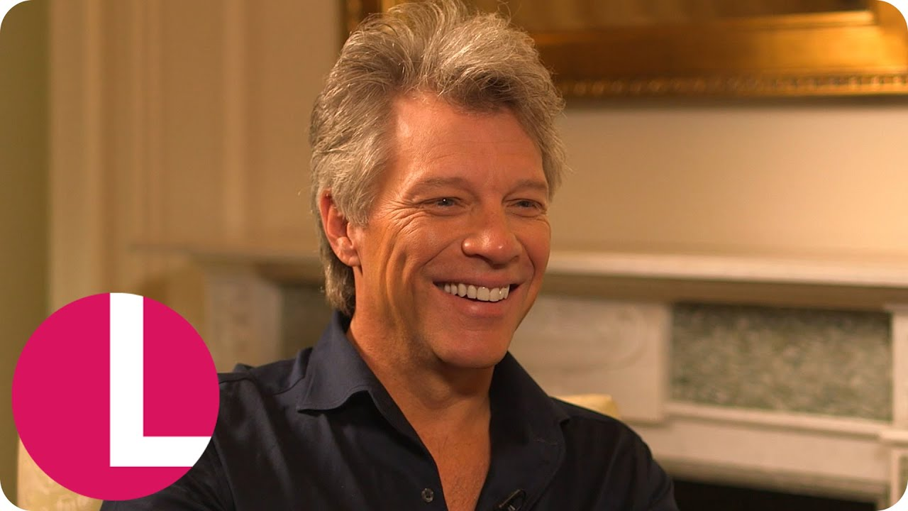 Jon Bon Jovi On Rocking Out With Prince William And His New Album | Lorraine