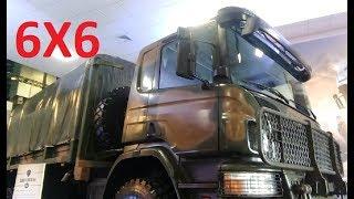 Unico caminhão do MUNDO homologado pelo exército Brasileiro, P360 DB 6X6