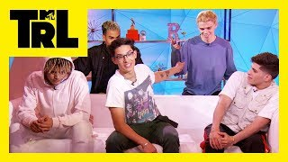 PRETTYMUCH Shows How Well They Know Each Other | TRL Pop Quiz | TRL