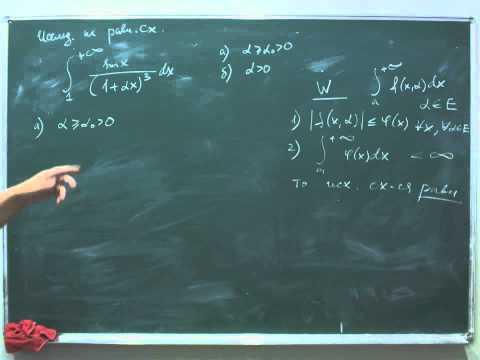 Консультация по математике для студентов второго курса МФТИ