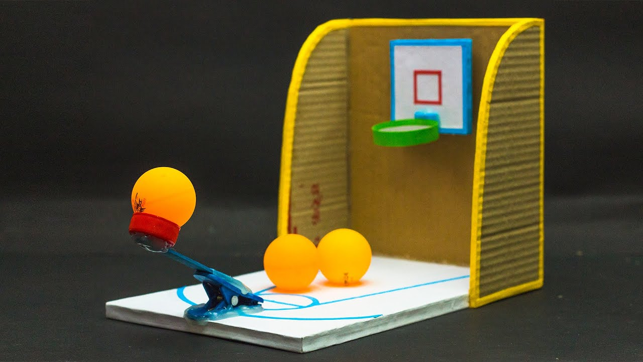 Cardboard Games | Cardboard Basketball Game