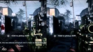 Medal of Honor Warfighter: PS3 vs. PC Comparison