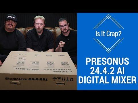 PreSonus Studiolive 24.4.2 AI - Is it crap?