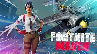 *NEW* MAVEN SKIN in Fortnite: Battle Royale! (Fortnite Funny Moments & Fails)