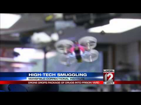 Drone drops drugs in Ohio prison yard, spurring inmate fight