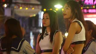 Thailand girl red | PATTAYA  girl red |  A Big Night Out On Walking Street
