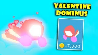 Getting The Best VALENTINE DOMINUS Pets In Hat Simulator! [Roblox]
