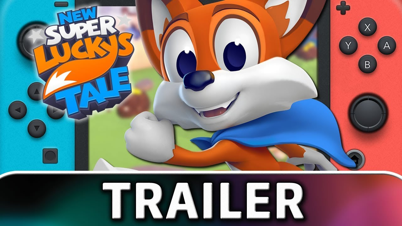 New Super Lucky's Tale for Nintendo Switch, it will run at 30 fps! (Info Resolution)