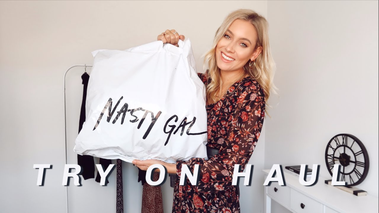 NASTY GAL AUTUMN TRY ON HAUL 2020! | Charlotte Beer