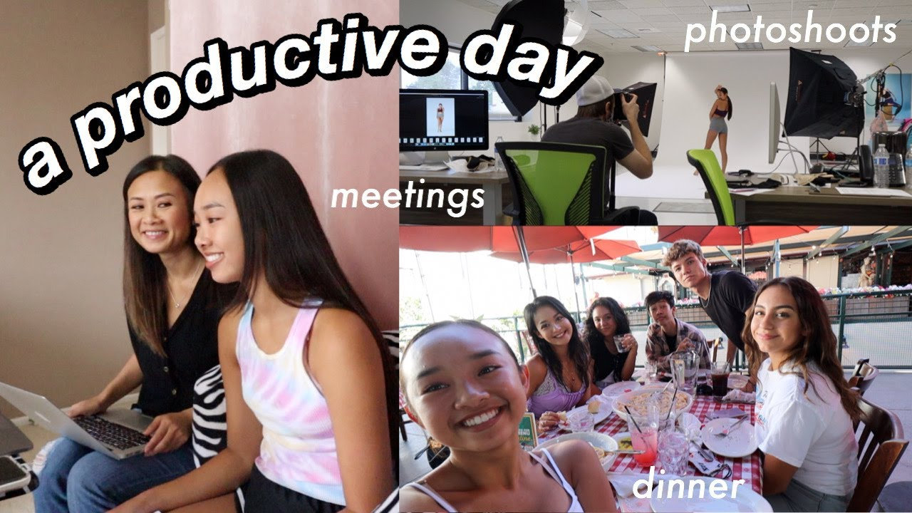 a productive day | meetings, photoshoots, & dinner with friends! Nicole Laeno