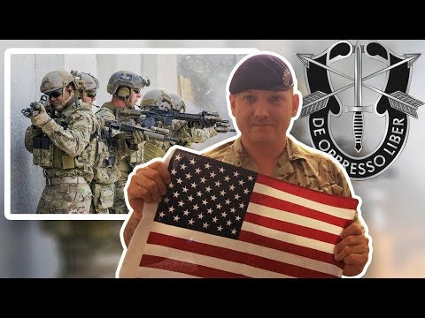 British Army Soldier Reacts To United States Army Special Forces (Green Berets)
