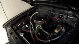 Starting the engine 2.0 Litres V6 1974 Ford Taunus Coupe - Exhaust Sound