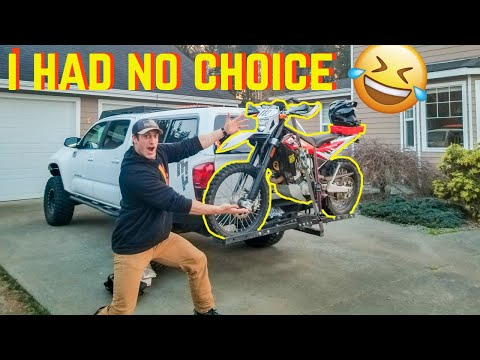 I HAD to buy this Motorcycle | Husqvarna TE449 Dual Sport First Ride Motovlog